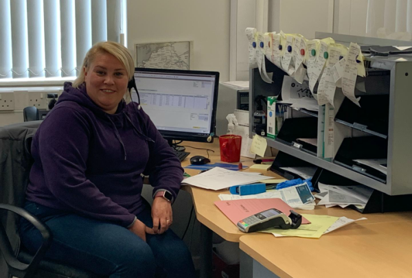 Ashleigh McIlwaine APS after COVID19 lockdown